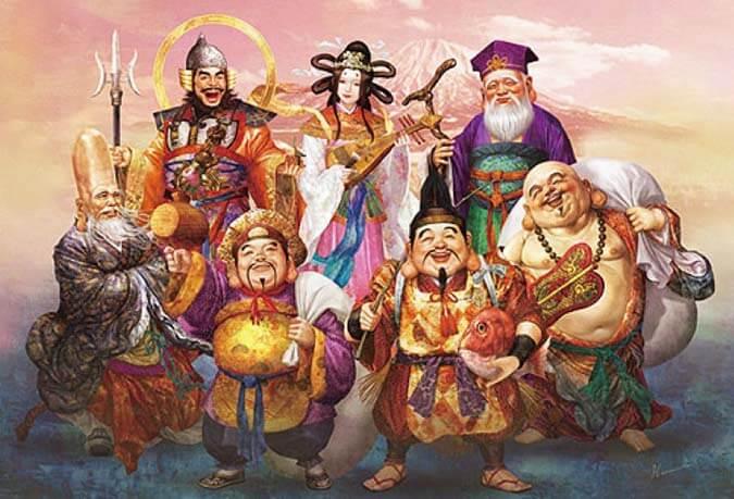 ทำความรู้จักกับ 7 เทพญี่ปุ่น โชคลาภ